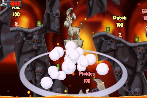 Browsergame Action Worms Online