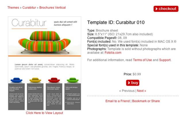 Template Store 130 Flyer Vorlagen F 252 R Apples Pages Giga