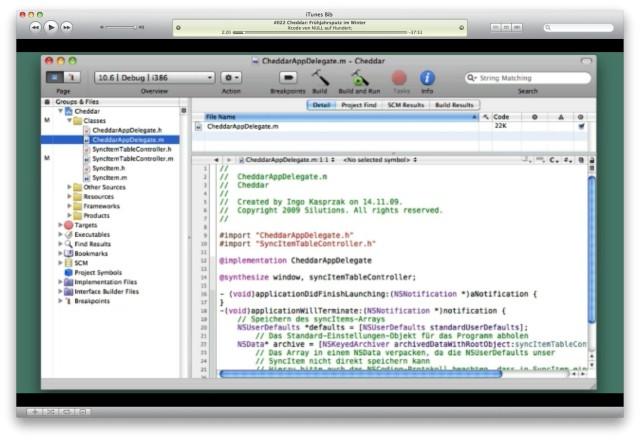 Videocast für einsteiger programmieren für mac und iphone