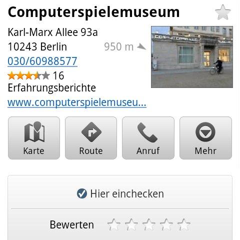 Google Maps: Update auf Version 5.5.0 mit kleinen Verbesserungen