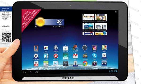 ALDI-Tablet: Medion Lifetab E10310 ab 16. Mai für 179 Euro erhältlich