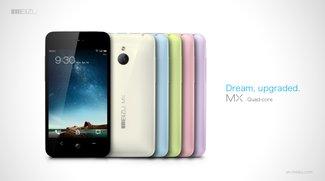 Meizu MX Quad-Core: Smartphone mit Exynos-CPU und 64 GB Speicher