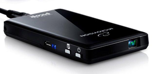 MicroVision ShowWX Plus: Pico-Laserprojektor im Hands-On [CES 2012]