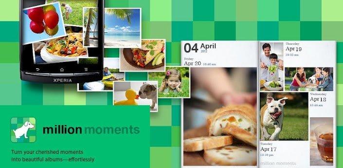 million moments: Kostenlose Galerie-App von Sony im Play Store