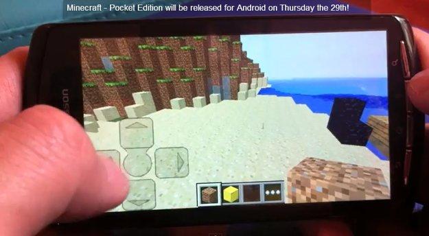 Minecraft: Android-Version für alle Geräte ab Donnerstag