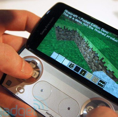 Minecraft für Android: Hands On-Video vom Xperia Play