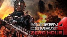 Modern Combat 4: Nach Problemen wieder zurück im Play Store