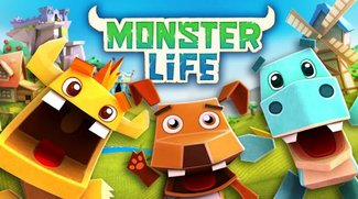 Monster Life: Knuffige Papiermonster von Gameloft