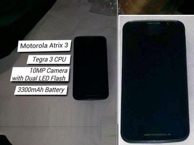 Motorola Atrix 3: Bild & Infos zu Quadcore-Smartphone mit Riesenakku [UPDATE]