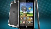 Motorola Atrix HD: Wasserabweisend dank Nanobeschichtung
