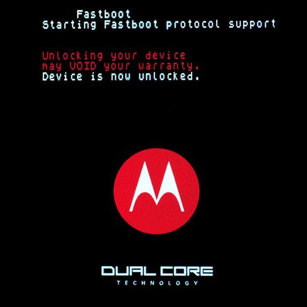 Motorola Atrix: Der Bootloader ist entsperrt