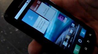 Hands-on: Motorola Atrix 4G + Lapdock-Dockingstation [Droidcon]
