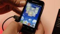 Motorola Defy Mini: Widerstandsfähiges Mini-Smartphone im Hands-On [MWC 2012]