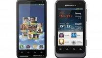 Motorola Motoluxe und Defy Mini: Im März auch in Deutschland