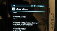 Motorola RAZR: Ice Cream Sandwich-Testversion mit Blur aufgetaucht