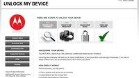 Motorola: Webseite zur Bootloader-Entsperrung online