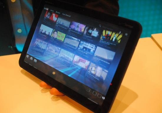 Motorola Xoom im Hands-On-Video [CES 2011]