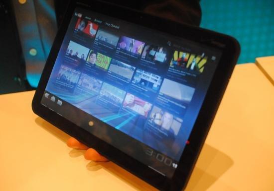 Motorola Xoom im Hands-On-Video [CES 2011]