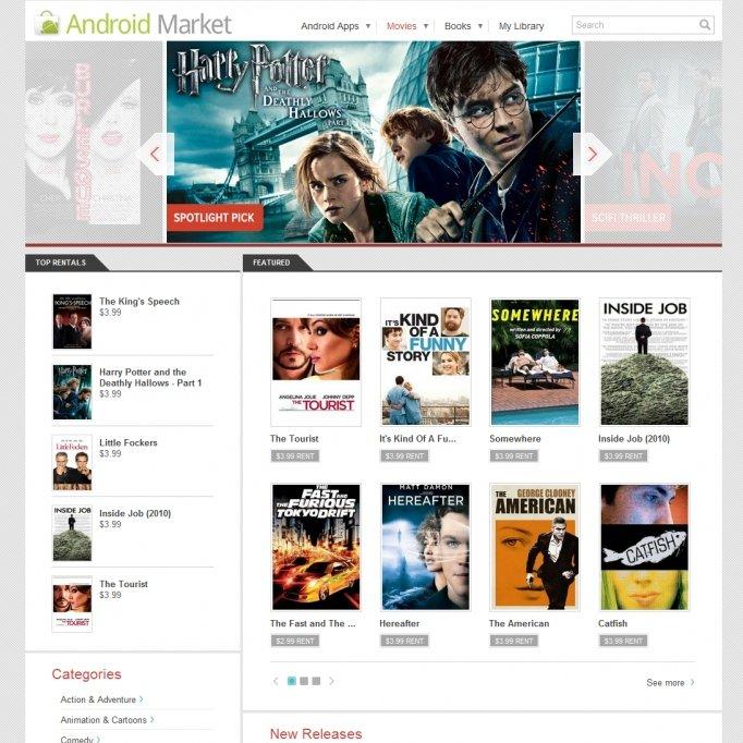 Android Market: Keine Leihfilme auf Root-Geräten