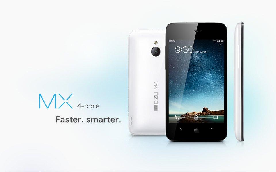 Meizu MX 4-core: Hübscher Vierkern-Bolide jetzt bei Amazon.com