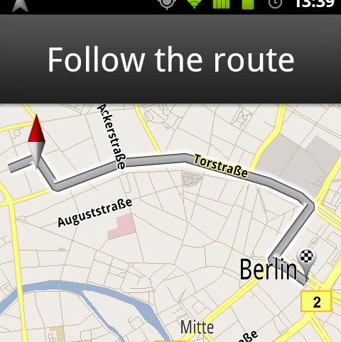 Google Navigation jetzt mit aktuellen Verkehrsdaten