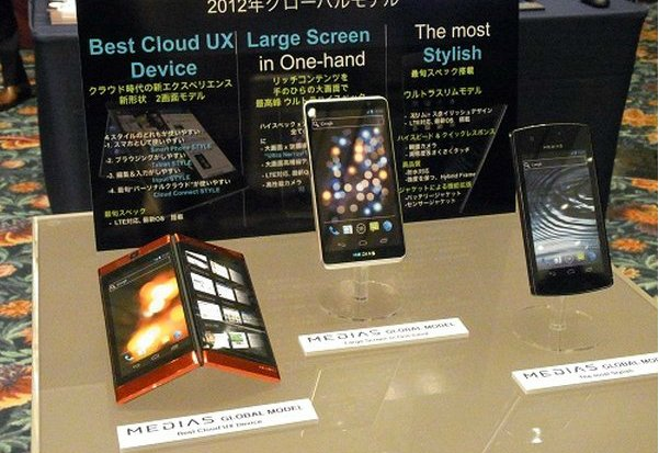 NEC auf dem MWC: Dual-Screen Smartphone gesichtet
