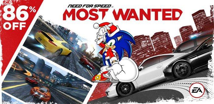 Android App-Deals: NfS Most Wanted und Sega-Games stark reduziert