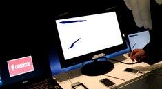 Neonode Multi-Sensing: Optische Touchscreen-Technologie in Aktion [MWC 2012]