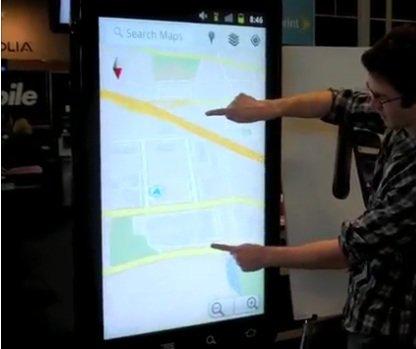 Das größte Nexus S der Welt steht in ...