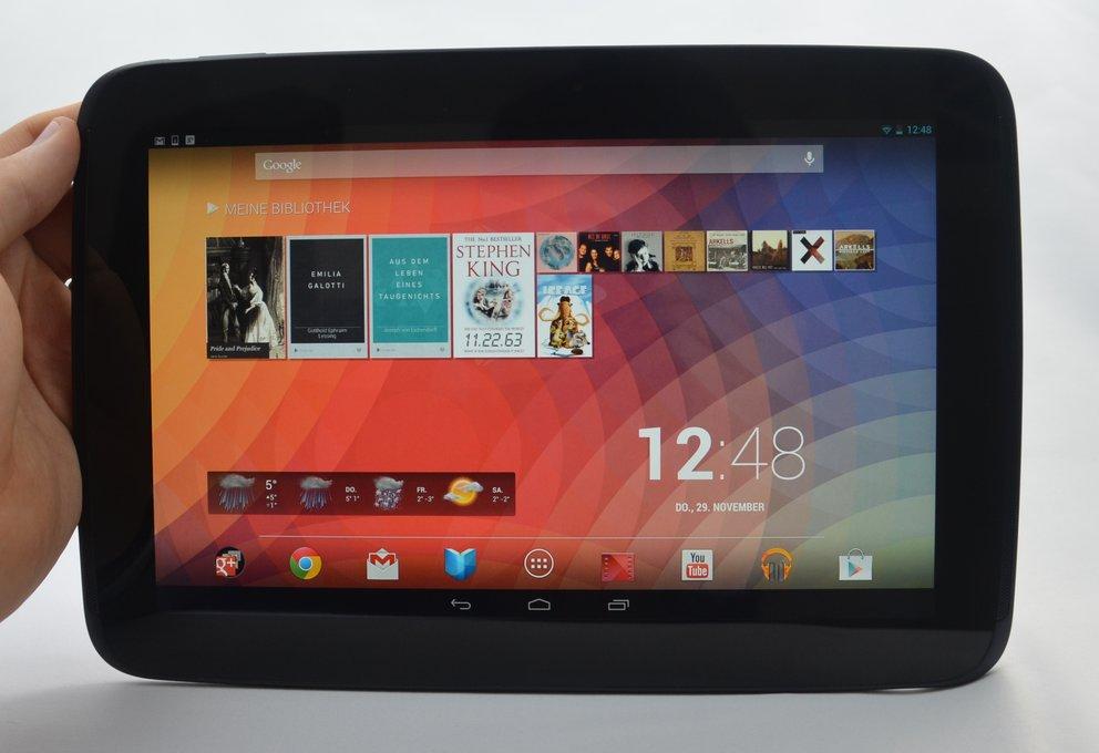 Nexus 10: Ebenfalls wieder im Play Store bestellbar