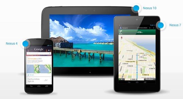 Nexus 4 und Nexus 10: In den kommenden Wochen wieder auf Lager