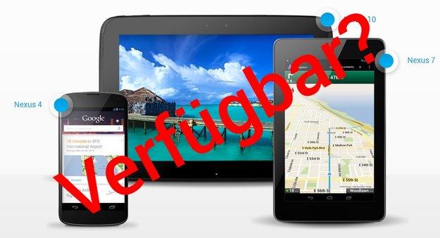 Nexus-Geräte: Webdienst überprüft, ob Nachschub im Play Store verfügbar ist