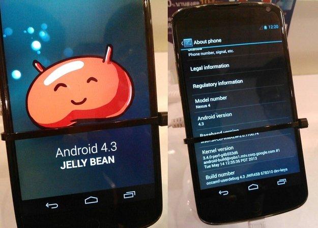 Android 4.3: Auf Nexus 4 mit verbesserter Foto-App gesichtet [Infos, Bilder, Video]
