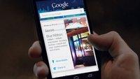 Nexus 4: Grammy-Werbespot zeigt Google Now