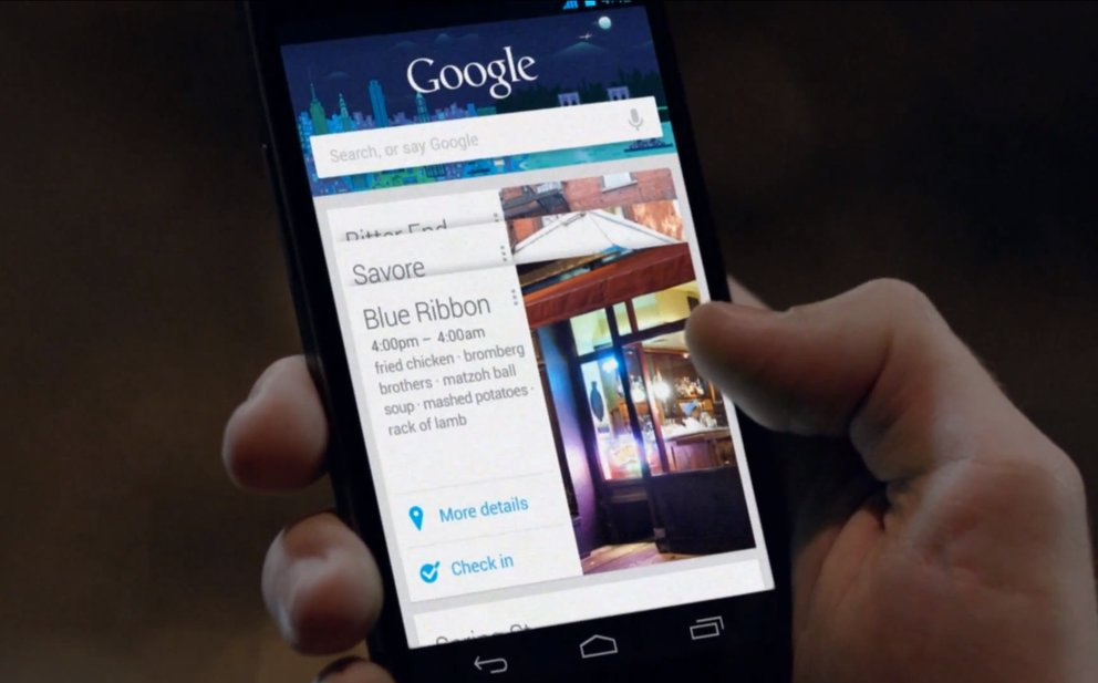 Nexus 4: Grammy-Werbespot zeigt Google Now