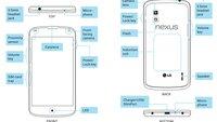 Nexus 4: PDF bei LG bestätigt kabelloses Laden, 8 & 16 GB-Version