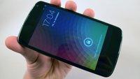 Nexus 4: LTE funktioniert doch - in gewissem Umfang