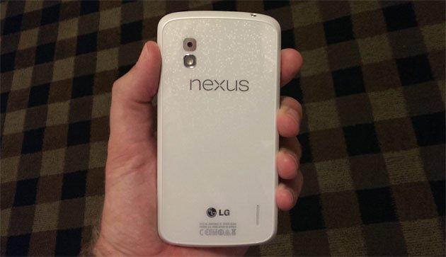 Nexus 4: Render-Bilder des weißen Modells aufgetaucht