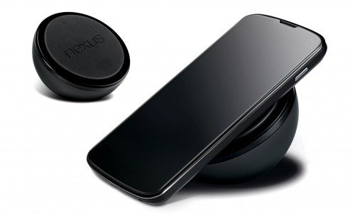 Nexus 4 wireless charging