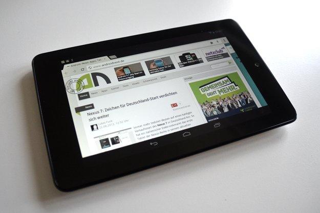 Nexus 7: Google-Tablet jetzt auch in Österreich erhältlich