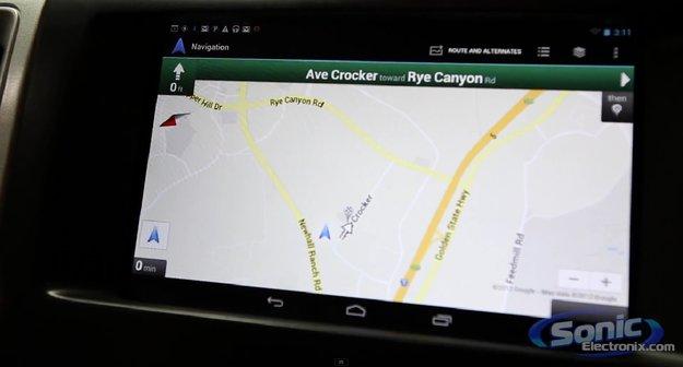 Nexus 7: Android-Tablet als Entertainment-System im Auto verbaut
