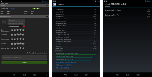 nexus 7 benchmarks