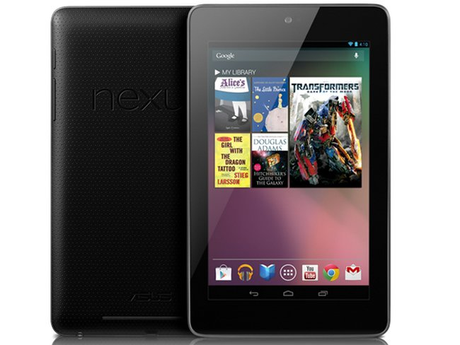 Nexus 7: Laut Schätzung 6 bis 8 Millionen Verkäufe bis Ende 2012