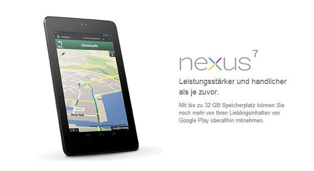 Nexus 7: 8 Millionen verkaufte Geräte bis Juni erwartet