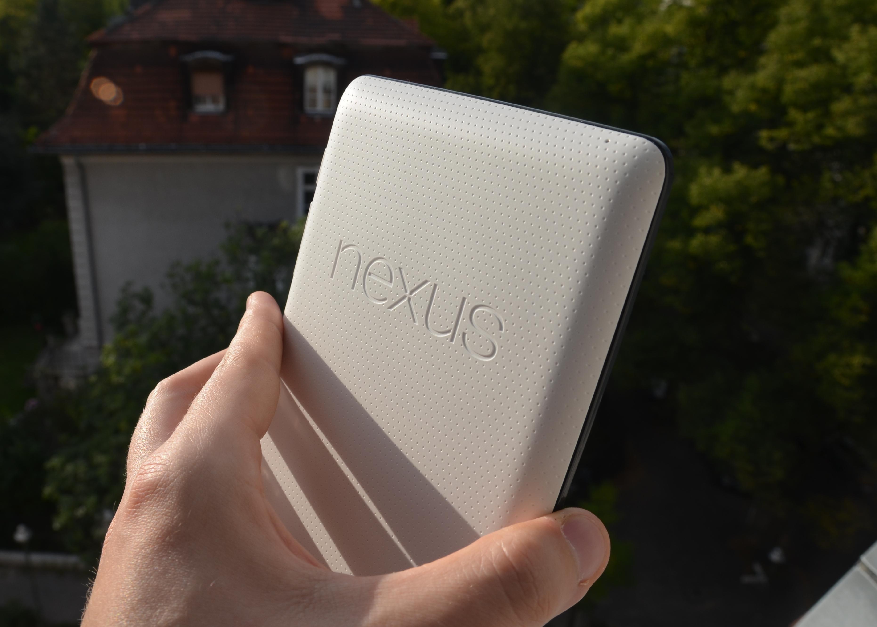 Nexus 7 (2012) Rückseite