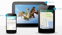 Nexus 4: Bei Media Markt vorbestellbar, weitere Nexus-Geräte auch im freien Handel
