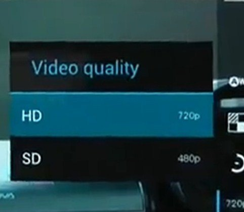 Samsung Galaxy Nexus: Frontkamera filmt in HD