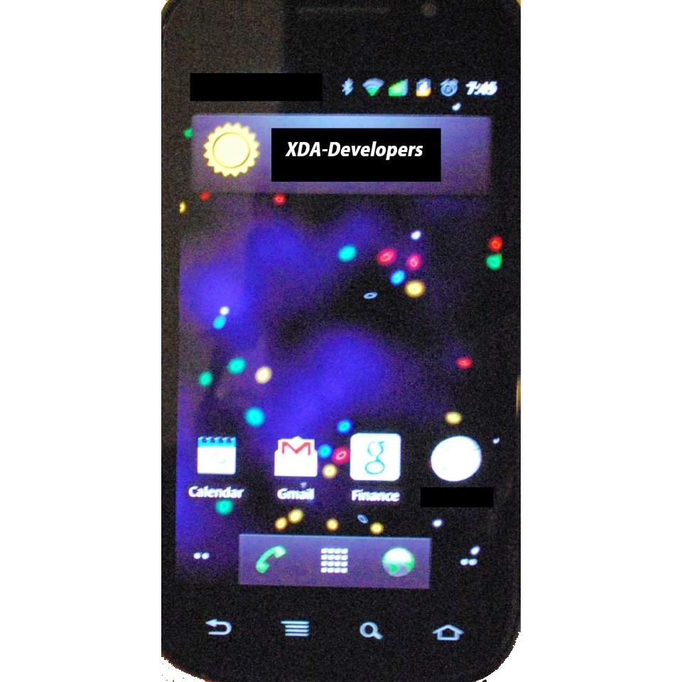Nexus S: Neue Infos und Bilder zum Google-Handy