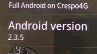 Android 2.3.5 am Montag, aber nur für das Nexus S 4G