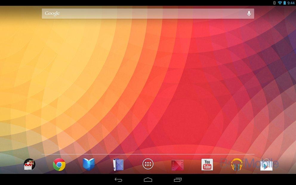 Nexus 10: Android 4.2 und das neue Tablet-Layout